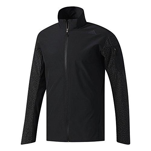 adidas Supernova Storm Mens Running Jacket - Black-M ()