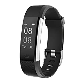 YAMAY Fitness Trackers,Fitness watch with Heart Rate Monitor...