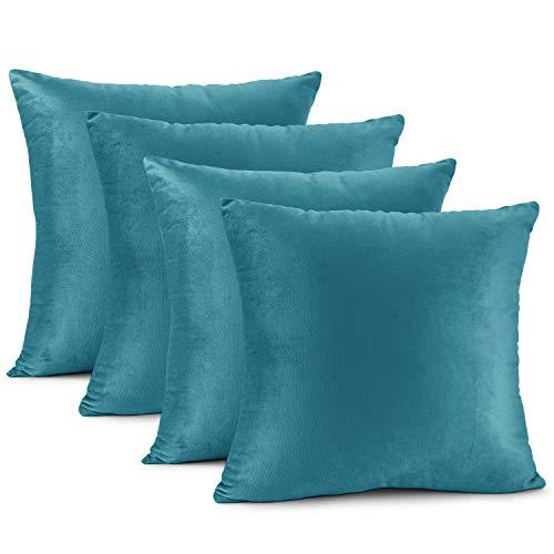 Nestl Bedding Solid Microfiber Velvet 18