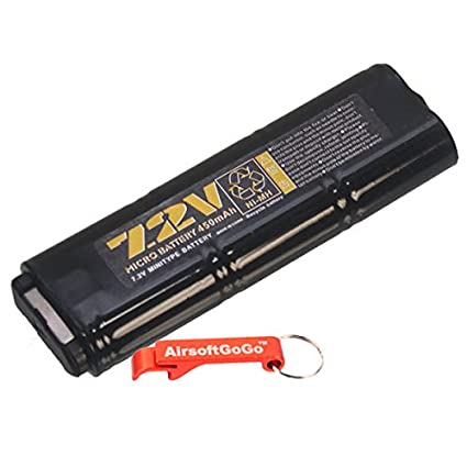 Amazon.com: Así 7.2 V 450 mAh Ni-MH batería para MP7/R4 ...