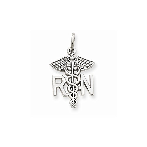 14k White Gold Registered Nurse Charm - 14k Gold Nurse Charm Shopping Results