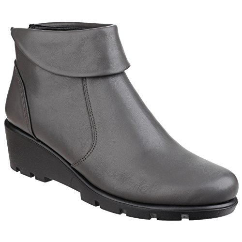 Flexx The Down Ladies Slangvage Mogano Cashmere Turn Womens Ankle Boots RwqdwCP