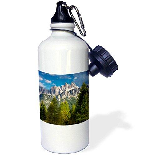 3dRose Danita Delimont - Mountains - Croda da Lago and Lastoni di Formin, Dolomites, Belluno, Italy - 21 oz Sports Water Bottle (wb_277562_1) by 3dRose