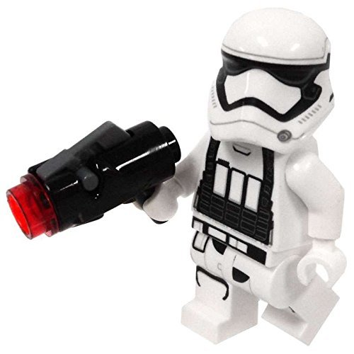LEGO Star Wars: The Force Awakens - First Order Heavy Artillery Stormtrooper Minifigure with blaster by LEGO (Heavy Blaster)