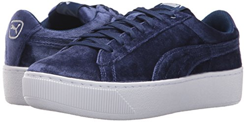 Puma blue Velluto Plateau Vikky In Depths Donna Depths Bl Rope Blue 6x6aA7wq