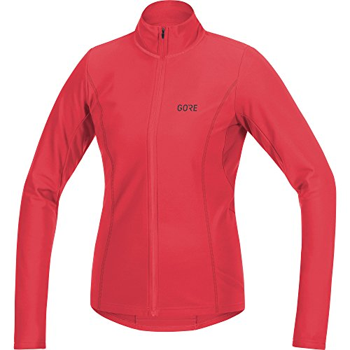 (GORE WEAR Women's Breathable Long Sleeve Cycling Jersey, C3 Women's Thermo Jersey, Size: S, Color: Hibiscus Pink, 100330)