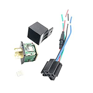 Amazon.com: Carrfan - Relé de seguimiento para coche, GPS ...