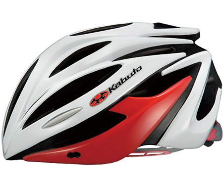 OGK Kabuto(オージーケーカブト) ALFE M/Lサイズ ホワイトレッド ヘルメット アルフェ   B07F8TF6SN