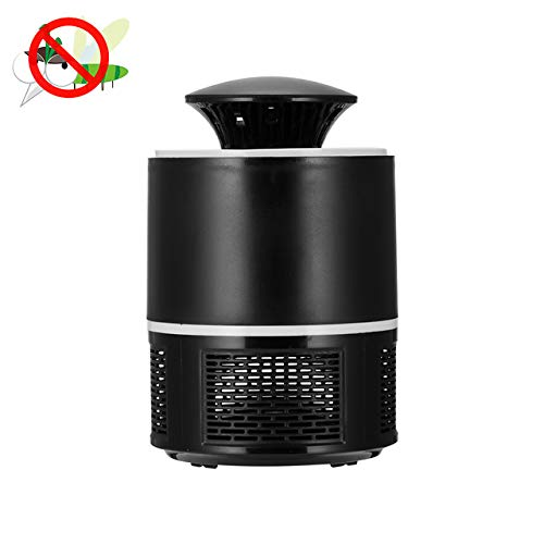 Hot LED Mosquito Killer Light Bulb Electronic Anti-Mosquito Insect Bug Killer Lamp Pest Control Flying Moth Trap   Black