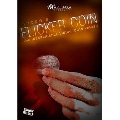 Flicker Coin (Quarter) by Rocco