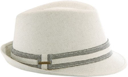 Stetson Men s Linen Blend Fedora Hat 014fe1f19fc