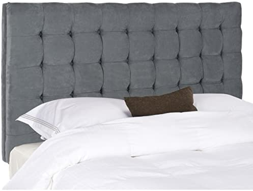 Safavieh Lamar Steel Blue Headboard Queen