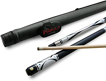 Amazon Com Brand New Champion Silver Billiards Pool Cue Stick 18 21oz White Or Black Pool Case Cuetec Or Champion Billiard Glove Retail Price 159 56 Sports Outdoors
