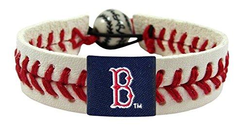 Red Baseball Wristband (Boston Red Sox Classic Baseball Bracelet)