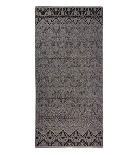 Pendleton Sculpted Wool Wash Cloth - for Bathroom & Kitchen, Graphite, One ()