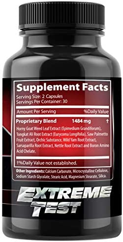 Test Boost Advanced Dietary Supplement - Male Enhancement Formula - Powerful Stamina, Strength, Energy & Endurance Supplement - Supports Healthy Test Training & Natural T Levels - 60 Capsules 3