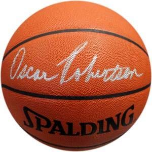 Signed Oscar Robertson Basketball - Official Leather - Autographed ()