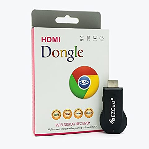 EZCast M2 1080P HDMI TV Stick WiFi Display Dongle Wireless Screen Mirroring Adapter Support DLNA MiraCast (Chromecast Tv Adapter)