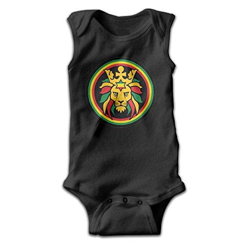 Sleeveless Rasta Lion Lion Of Judah Unisex Baby Cute Onesies Bodysuit Romper Outfits 6 M Revelation Sleeveless Shirt