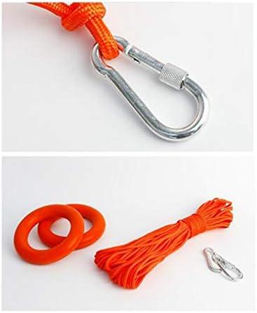 Haude equipo de salvavidas cuerda de seguridad con gancho y bucle buceo Cuerda de seguridad flotante sobre el agua accesorios para piscina