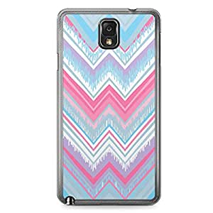 Chevron 1 Samsung Note 3 Transparent Edge Case - Chevron Collection
