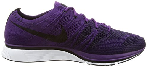 Nike Purpleblackwhite Adulte Violet Mixte Flyknit night Chaussures Trainer De Gymnastique rqnrYzS4