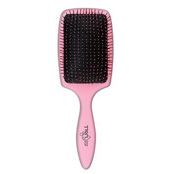 amazon com tion damp brush size 10 26 cm pink hair