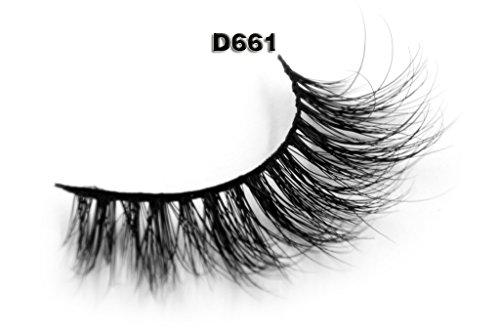 3D-Mink-Fur-False-Eyelashes-Womens-Makeup-Natural-Long-Fake-Lashes-Hand-made-1-Pair-Package
