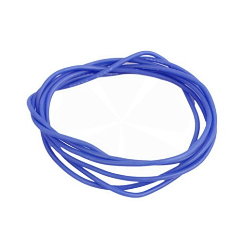 22AWG Gauge Flexible Stranded Copper Cable Silicone Wire Blue 1M Length for RC by Ucland