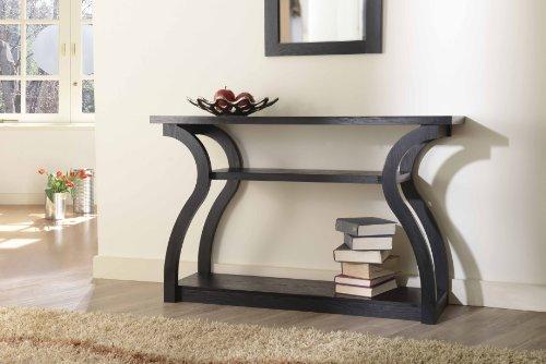 ioHOMES Mariene Console Table, Black