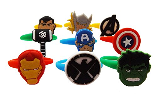 AVIRGO Colorful Releasable Ponytail Holder Elastic Rubber Stretchable No-slip Hair Tie Set of 9 pcs Set # (Black Widow Witch Costume)
