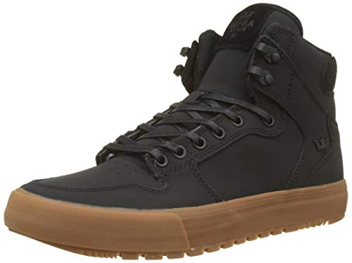 - Supra Vaider Cold Weather Shoes Black/Black/Gum Mens Sz 11