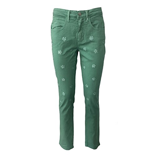 Tinta Mod Push Con Jeans In Verde Beam Italy Made Ricami up Donna Luxury Pamplona YwIFqxvz
