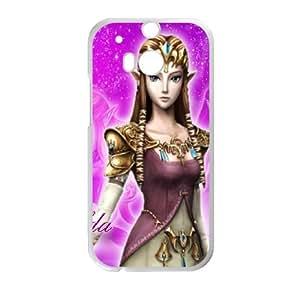 HTC One M8 Cell Phone Case White Super Smash Bros Princess Zelda VIU012695