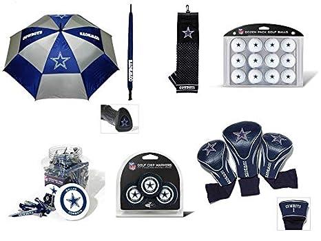 Team Golf NFL Dallas Cowboys Officially Licensed Golf Accessories -  Includes 1 Umbrella c804da7da