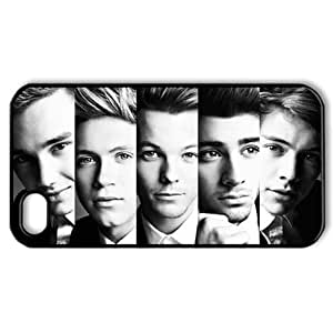 Music Singer Series Protective Hard Cool For SamSung Galaxy S5 Phone Case Cover - 1 Pack - One Direction - The Headshot of One Direction