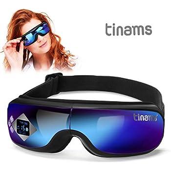 Amazon.com: Masajeador de ojos con calor, Tinams plegable ...
