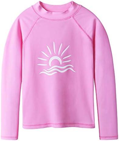 BAOHULU 3-10 세 어린이 수영복 단순 유형 팔 키즈 UV 러쉬 가드 수영복 / BAOHULU 3-10 Years Old Children`s Swimsuit Simple Type Long Sleeve Kids UV Rush Guard Swimsuit
