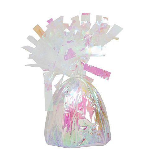 (Foil Balloon Weights Iridescent Package of 6 Birthday Party Supplies)