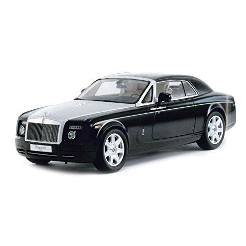 1/18 Rolls-Royce Phantom Coupe (ブラックメタリック/Diamond Black) K08861DBKの商品画像
