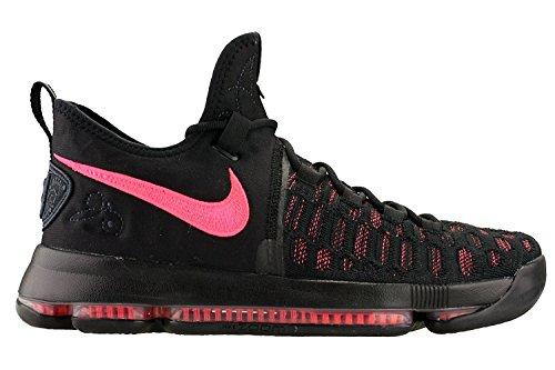 Nike Herren Kevin Durant KD 9 IX Premium Basketballschuhe Schwarz / Hot Punch