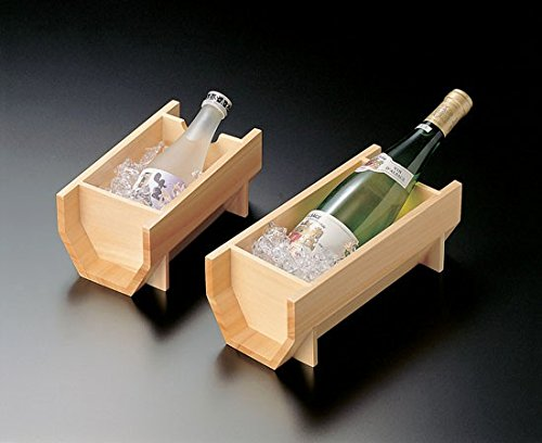 Japanese Woodern Sake Cooler 2. Large by Youbi