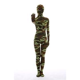 - 41ArCA9XbkL - Nedal Women's Camouflage Zentai Lycra Bodysuit Spandex Halloween Onesie