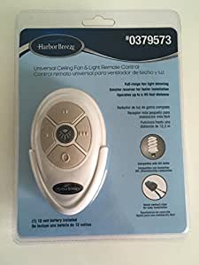 Harbor Breeze Universal Ceiling Fan & Light Remote Control