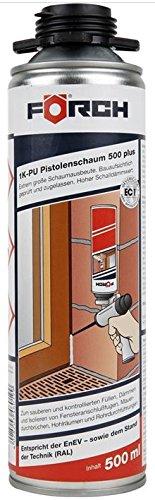 1 K Espuma de poliuretano Pistola 500 Plus gris 500 ml: Amazon.es: Bricolaje y herramientas