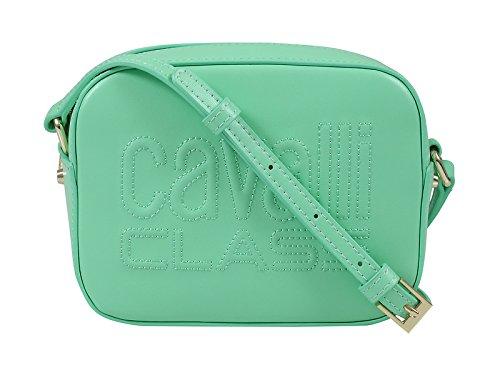Nancy Zip Bag - Roberto Cavalli Class Moss Green Small Shoulder Bag Nancy 001 for