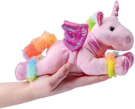 Prextex Unicorn Plush Toys 4 Piece Cute Unicorn Stuffed Animals Stuffed Animal Winged Rainbow Unicorns