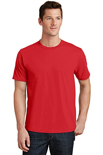 Port & Company Fan Favorite Tee PC450 Bright Red Small -