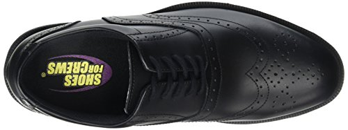 Shoes For Crews Executive Wingtip II-Ce Cert, Calzado de Protección para Hombre Negro