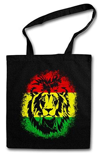 Shopping Bag Di Tela Rastafari Lion Ii Hipster